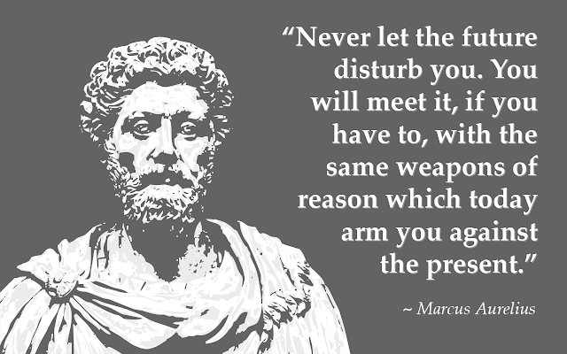 Marcus Aurelius Quote about future