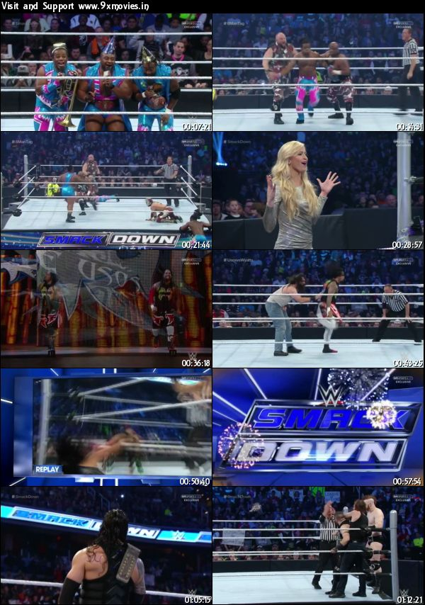 WWE Thursday Night Smackdown 31 Dec 2015 HDTV 480p