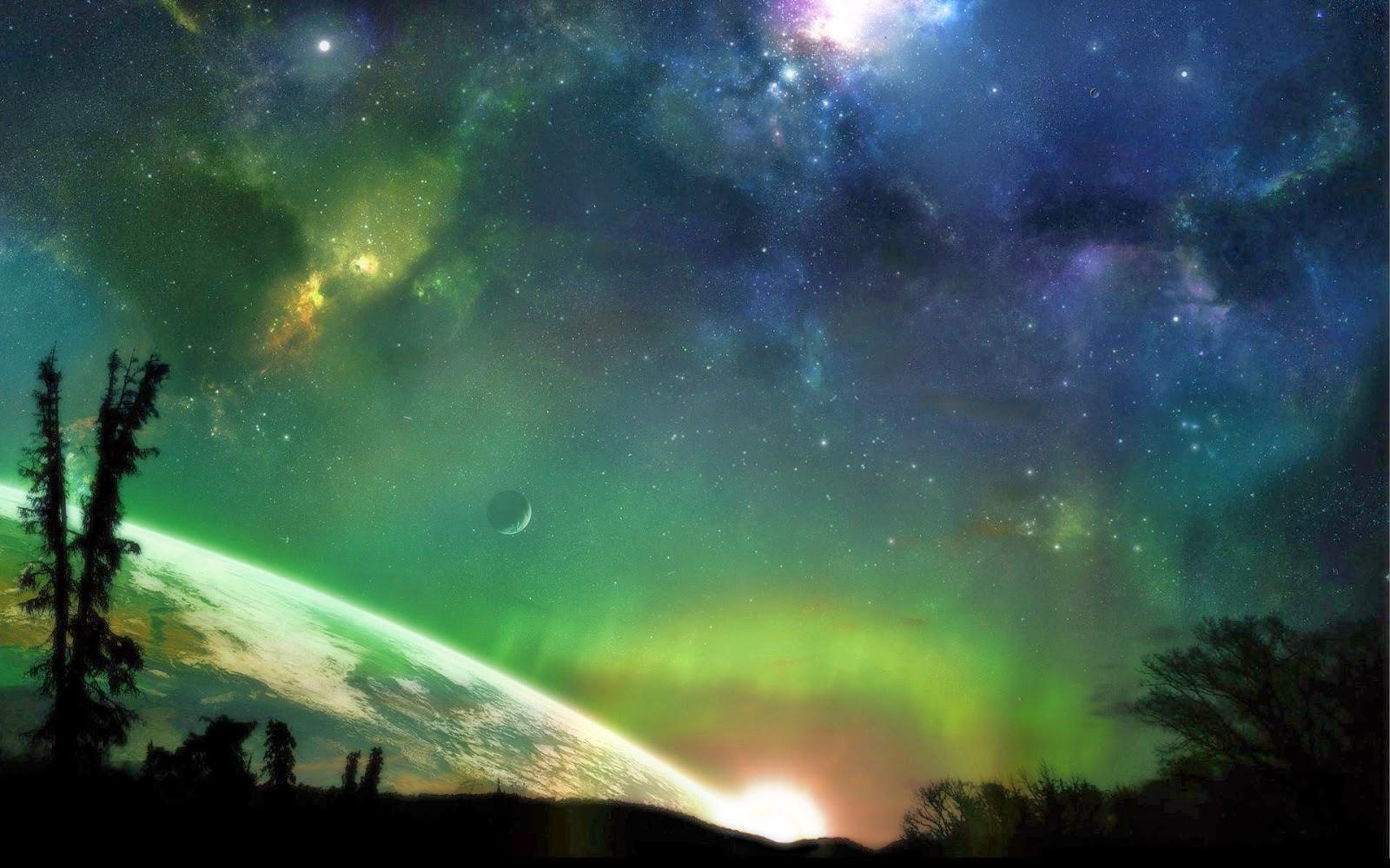 fondo de pantalla abstracto el espacio planeta imagenes