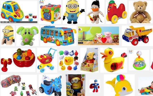 बच्चों के खिलौने - ऑनलाइन