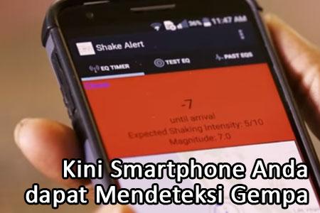 App Ini Memungkinkan Smartphone Anda Mendeteksi Gempa