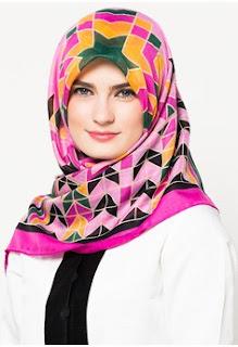 Gambar Jilbab Zoya Terbaru Segi Empat
