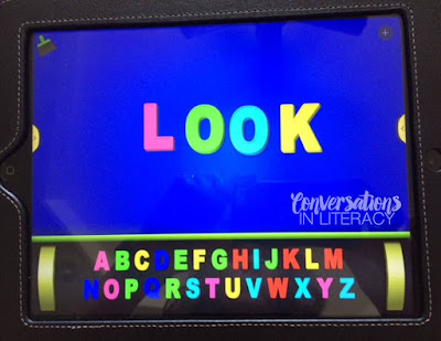 ABC Letter apps for sight word activities