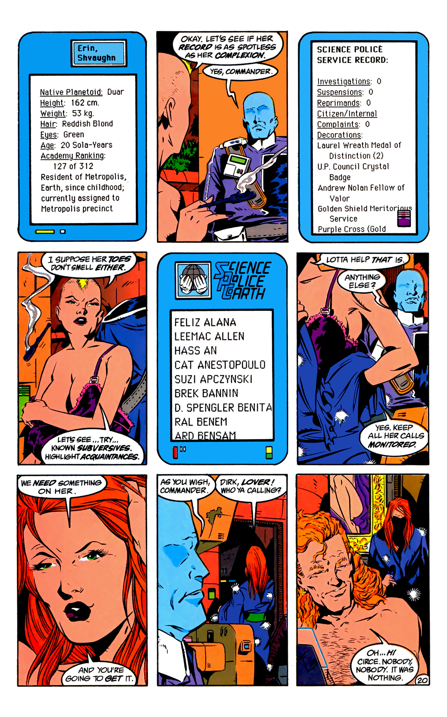 Legion of Super-Heroes (1989) 2 Page 21
