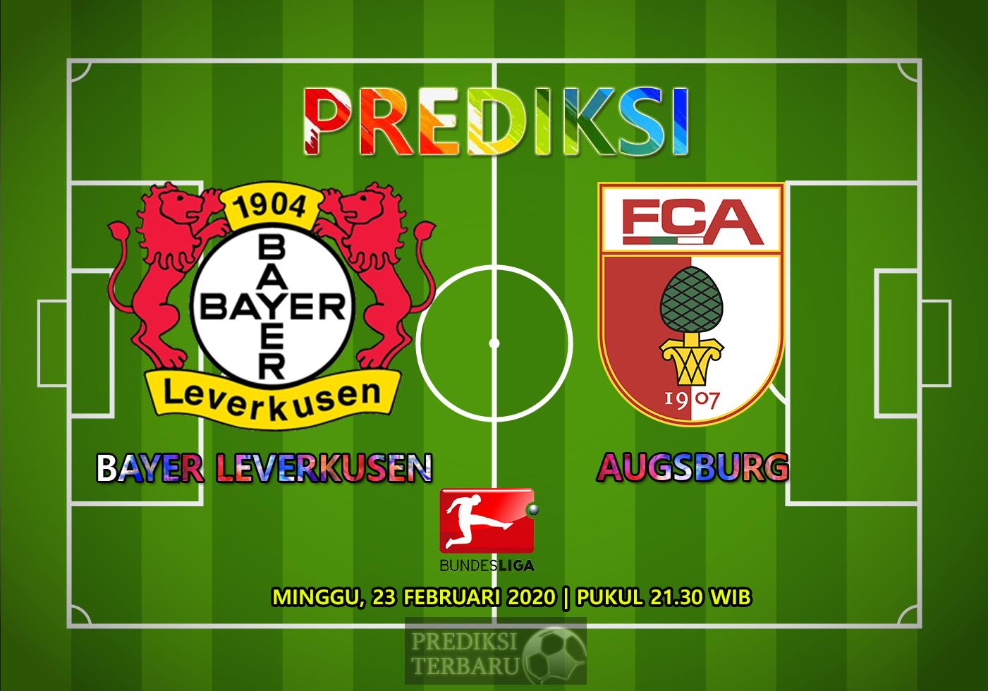 Prediksi Bayer Leverkusen Vs Augsburg, Minggu 23 Februari
