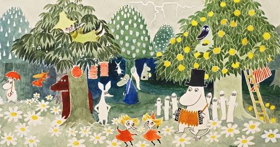 Whoopidooings: Tove Jansson - Moomins