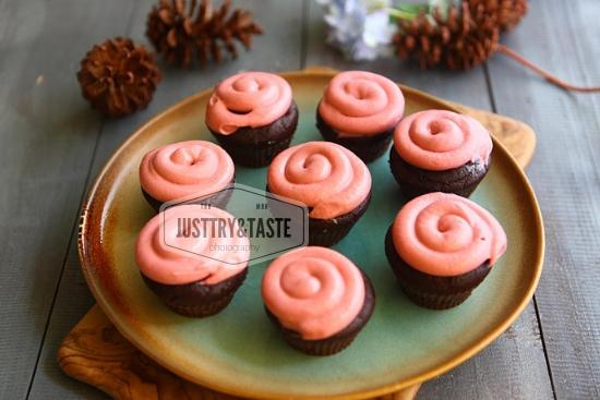 Resep Cupcake Kacang Merah JTT