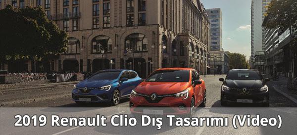 2019 Renault Clio Dış Tasarımı