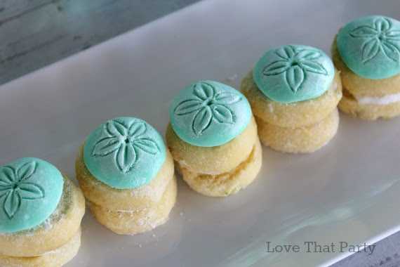 image of sand dollar cookies