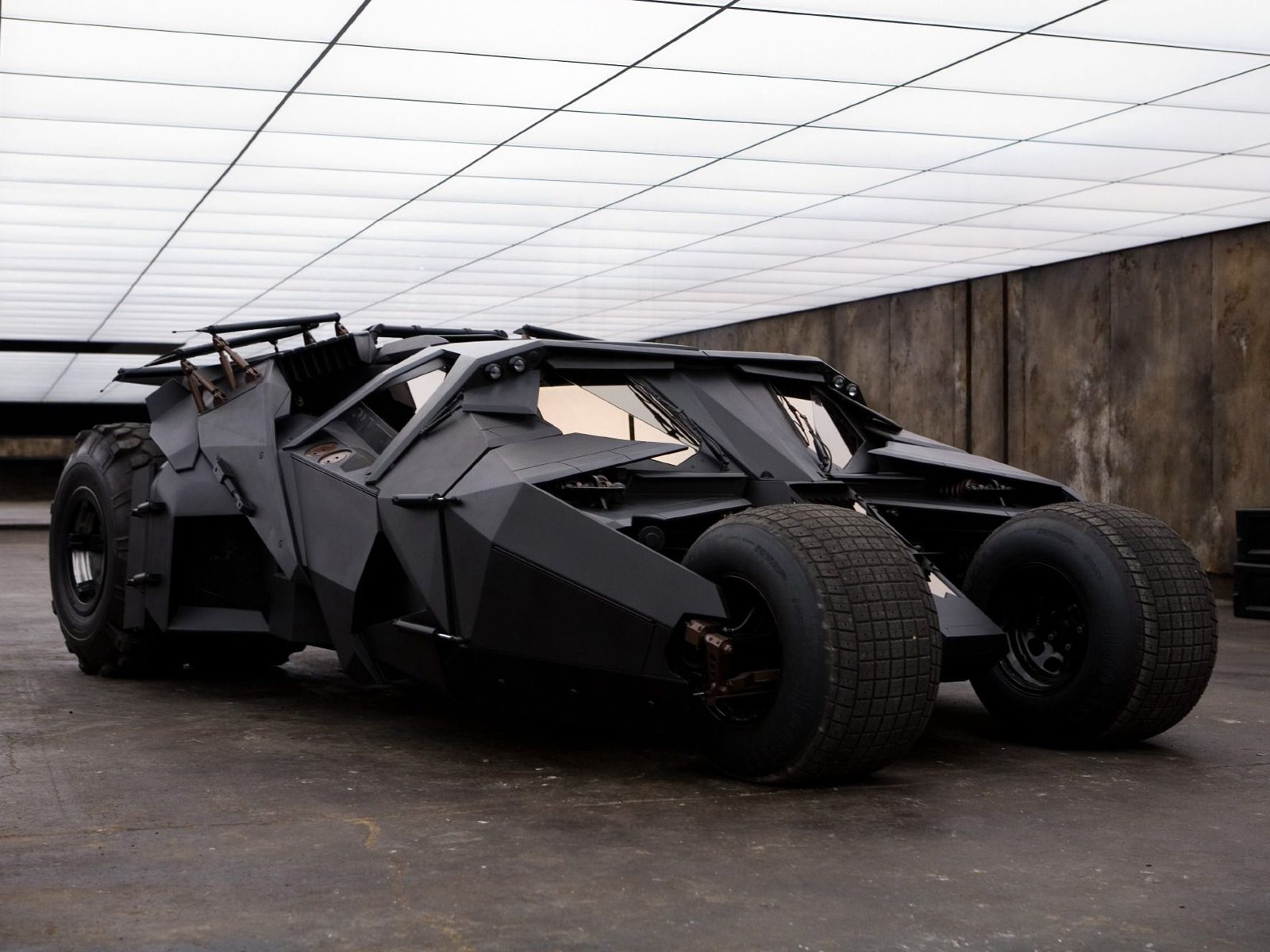 Batmobile : The Tumbler Blueprints and Specification