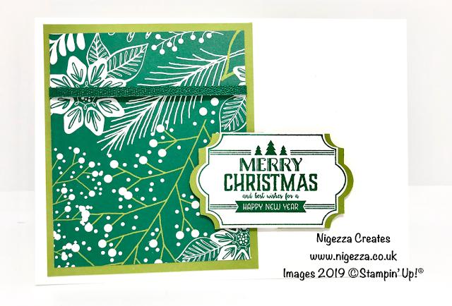Nigezza Creates Bulk Making Christmas Cards Stampin' Up!