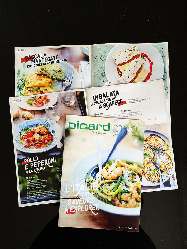 Mes recettes italiennes pour Picard Mag (Edda Onorato)