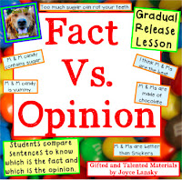 Teaching Power point Fact vs. Opinion