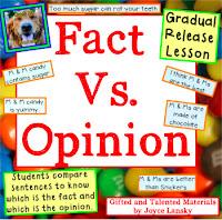 Teaching Power point Fact vs. Opinion