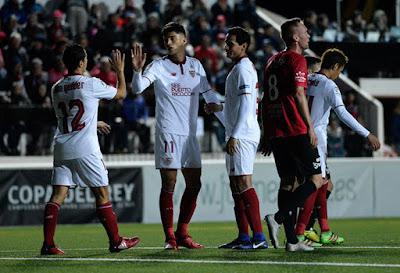 Crónica SD Formentera 1 - Sevilla FC 5