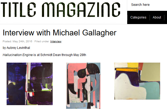 http://www.title-magazine.com/2016/05/interview-with-michael-gallagher/