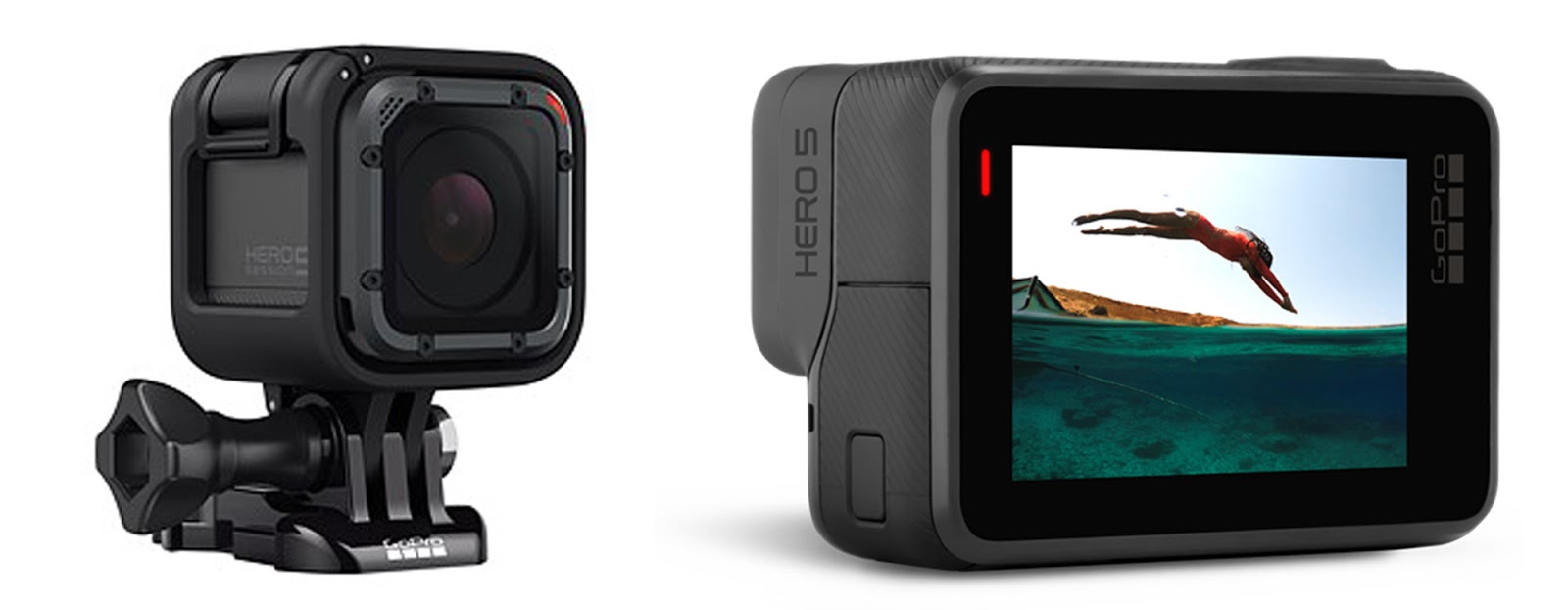 GoPro Hero 5 Session и Hero 5 Black