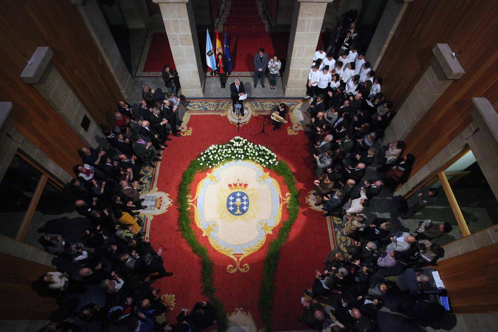 Acto institucional no Parlamento de Galicia en homenaxe ás vítimas do  Holocausto e ás vítimas galegas dos campos nazis d1e24e53be2