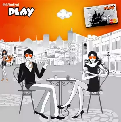yapı kredi play card
