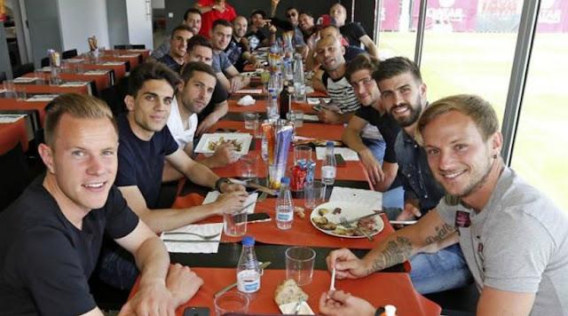 Voila ce que mangent les joueurs du Barça un jour de finale