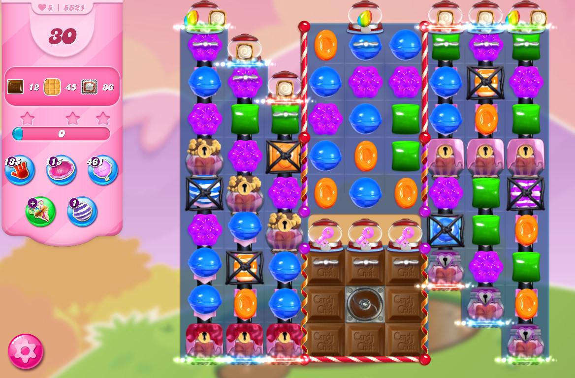 Candy Crush Saga level 5521
