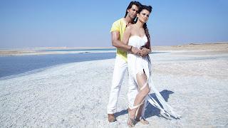 Kangana Ranaut and hrithick roshan in krrish 3 song wallpapers