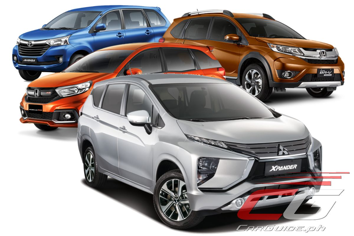 2018 Mitsubishi Xpander Vs Honda Mobilio Vs Honda Br V Vs Toyota