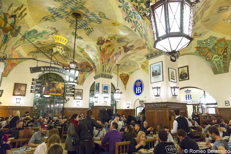 Hofbrauhaus Munich in a Day Long Layover