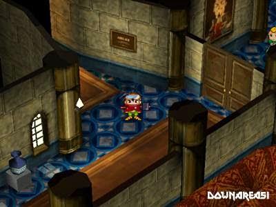 Thousand Arms PS1 Screenshot