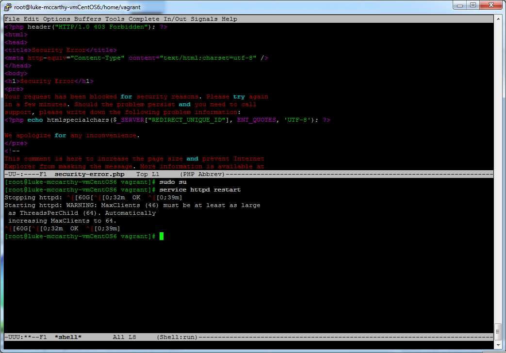 My Side Projects: Change the Colour of Emacs Shell Prompt