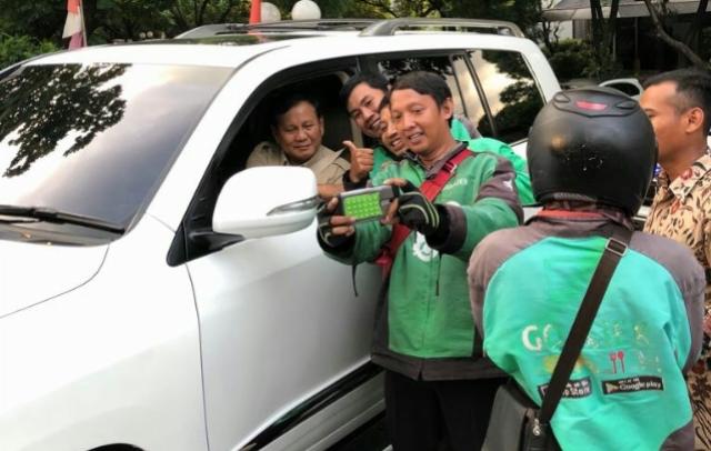BPN Sebut 15 Ribu Driver Ojol Akan Beri Dukungan ke Prabowo