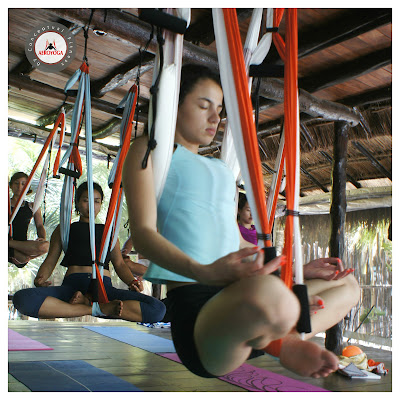aeroyoga, yoga aereo, air yoga, yoga, pilates, fitness, aerial yoga, mexico, cancun, teacher training, formacion, profesores, instructores, maestros, semana santa 2019, Rafael Martinez