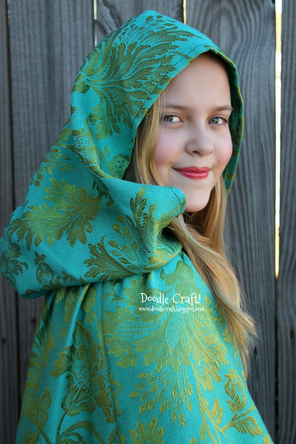 Belle S Diary Bohemian Style: Doodlecraft: Once Upon A Time Belle's Traveling Cape