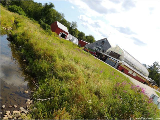 Granjas de Massachusetts: Riachuelo de la Cider Hill Farm