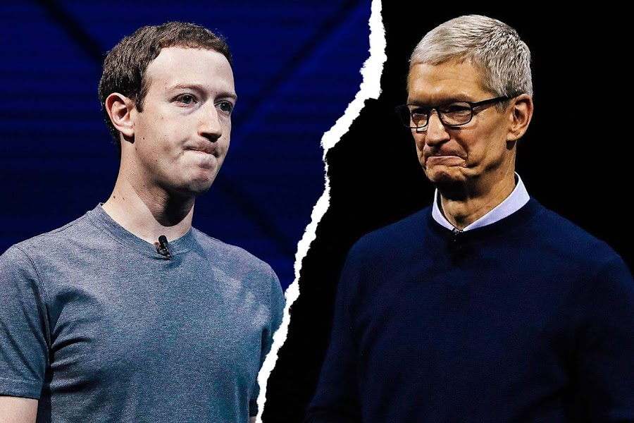 Facebook confirmed Mark Zuckerberg's beef with Apple CEO Tim Cook in an official company statement