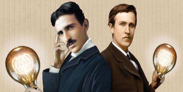 Sejarah Konflik Thomas Edison dan Nikola Tesla