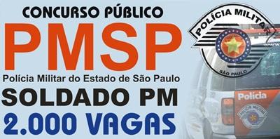 Concurso PMSP Soldado