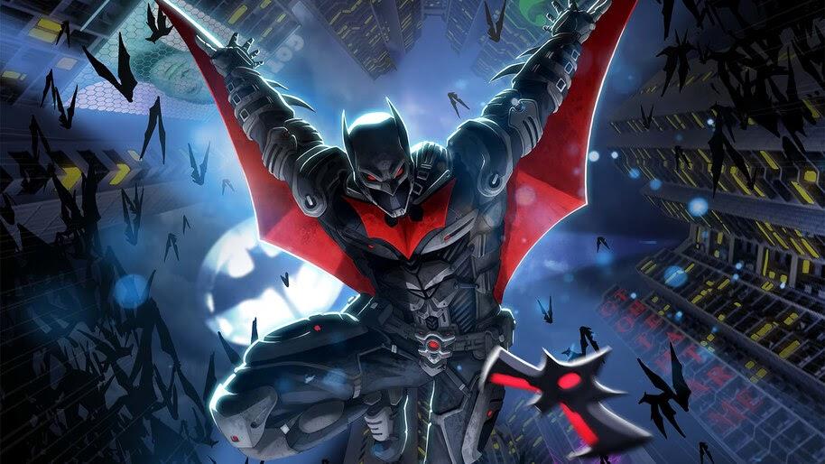 Batman Beyond, Night, Sky, 4K, #6.2374