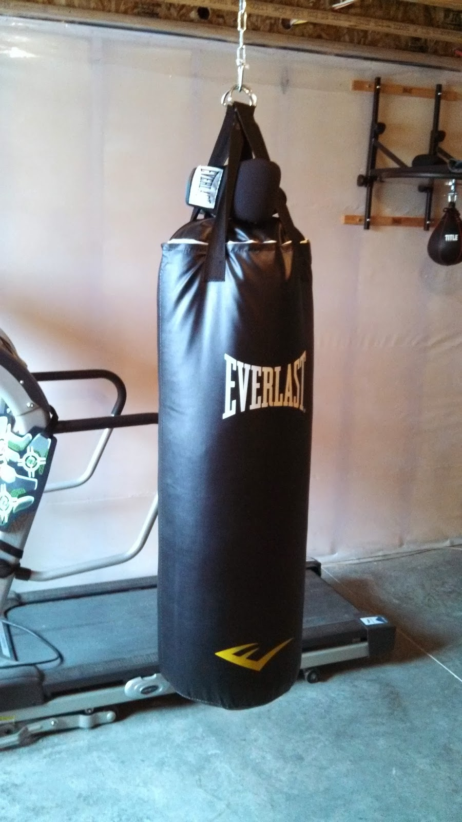 How To Hang A Punching Bag From High Ceiling Www