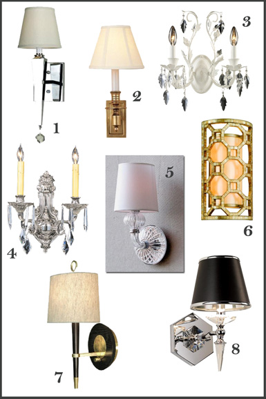 Contemporary Crystal Wall Sconce Modern Bathroom Lighting Fixture u2013 Wall Sconces. belle maison Lighting Ideas for the Powder Bath  sc 1 st  My Web Value | Decoration ideas blog. & crystal wall sconce bathroom | My Web Value