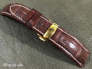 khóa bấm dây da đồng hồ
