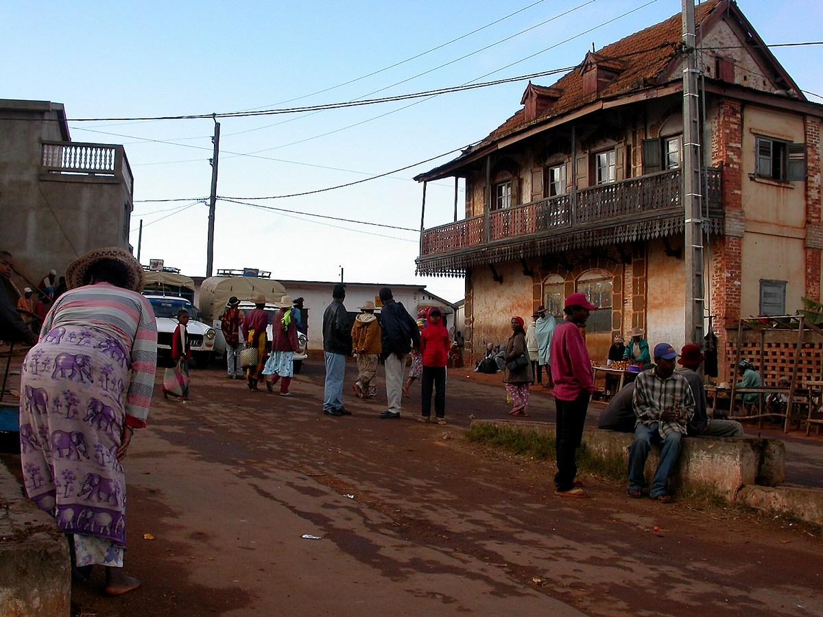 Dans le village d'Ambalavao.