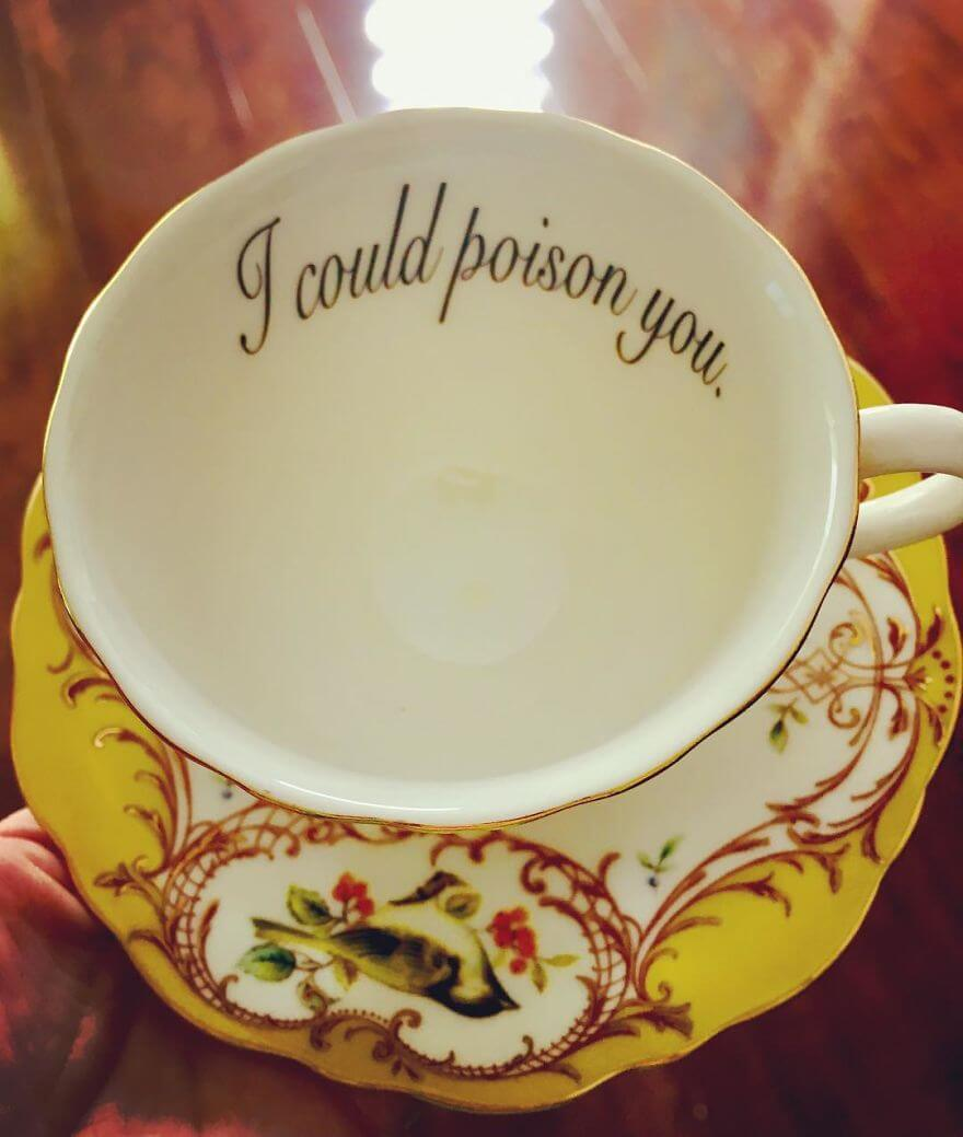14 Creative Teacups To Offend Your Guests With Class