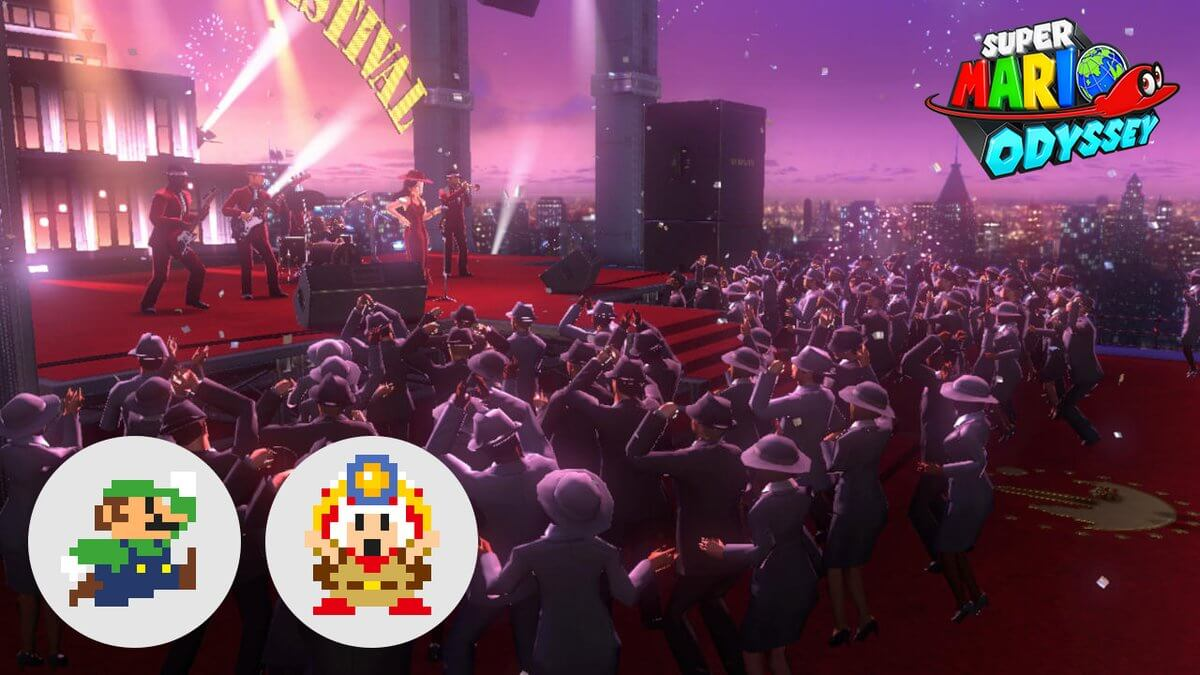 Nintendo Celebrates First Anniversary For Super Mario Odyssey With Limited Time Event