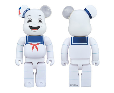Check out the Ghostbusters Stay Puft Marshmallow Man 400% Be@rbrick Vinyl Figure by Medicom