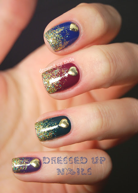 Nail Designs With Studs | Nail Designs, Hair Styles ...