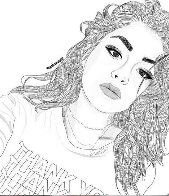 Desenhos Em Preto E Branco Para Desenhar Tumblr Mmod