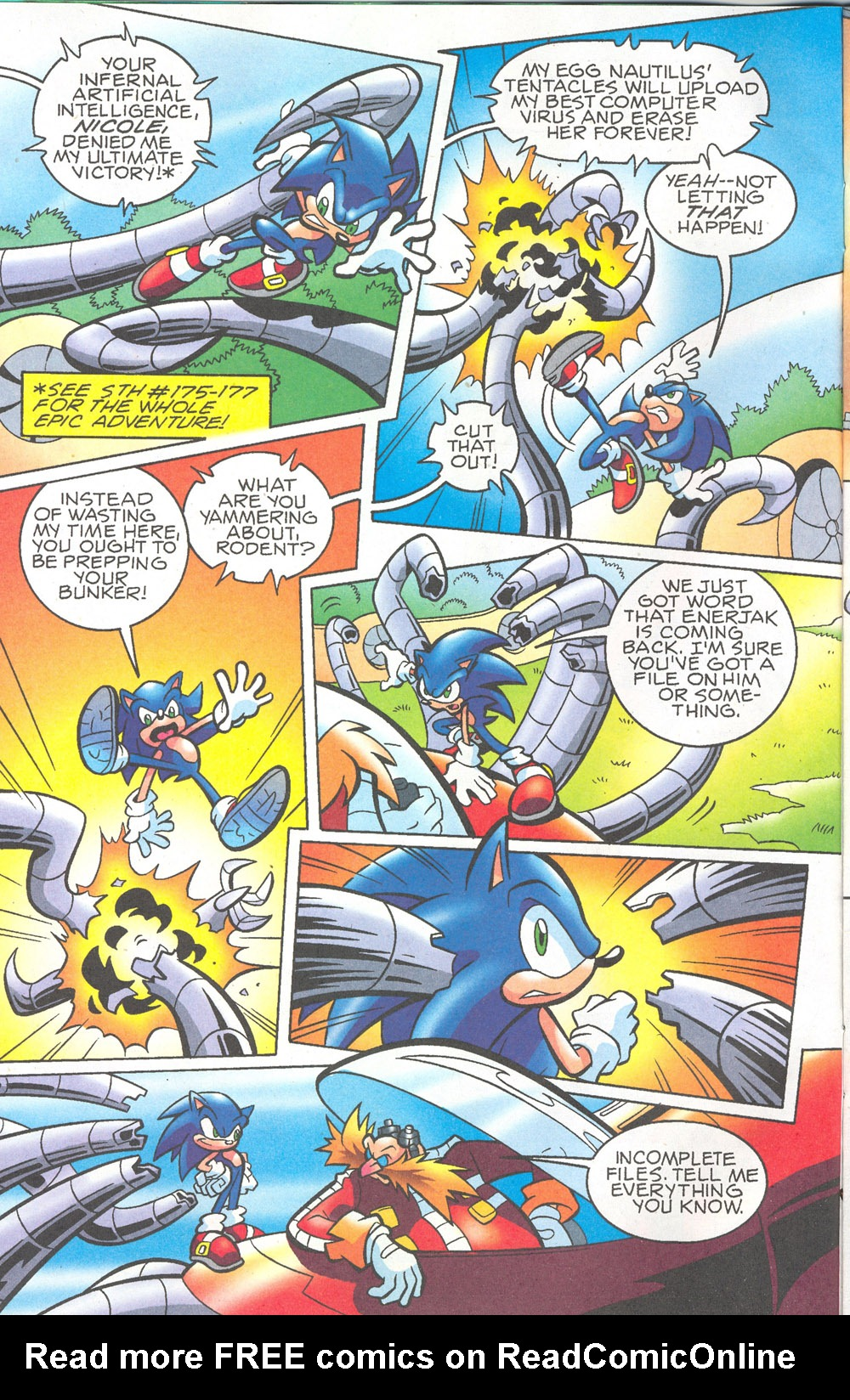 Read online Sonic The Hedgehog comic -  Issue #180 - 3