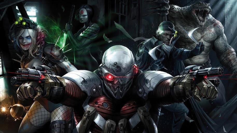 Suicide Squad, DC, Anti Hero, 4K, #4.3148