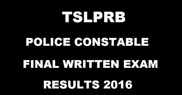 TSLPRB Telangana Police Constable Mains Results